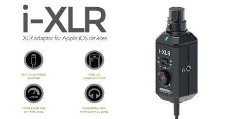 Rode i-XLR, adaptador para micrófonos XLR a Lightning 3